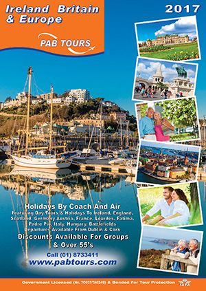 PAB Tours 2017 Brochure - Now Available